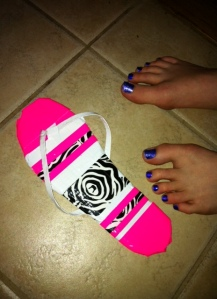 Duct Tape Shoe